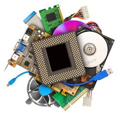 Besonders Computer enthalten empfindliche Elektronik