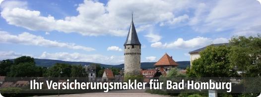 Ihr Versicherungsmakler für Bad Homburg von der Höhe